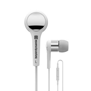 Beyerdynamic MMX 102 iE In Ear Headphones, White/Silver