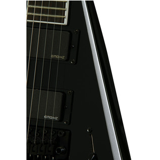 Jackson PDX Demmelition King V Electric Guitar, Black