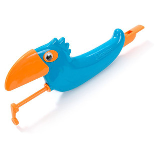 Percussion Plus PP1018 Slide Whistle Bird, Blue