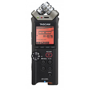 Tascam DR-22WL Hand-held Recorder with WiFi 2
