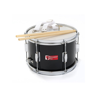 Percussion Plus Junior Marching Snare, Black