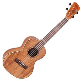 Laka VUT90 Tenor Acoustic Ukulele, Solid Koa