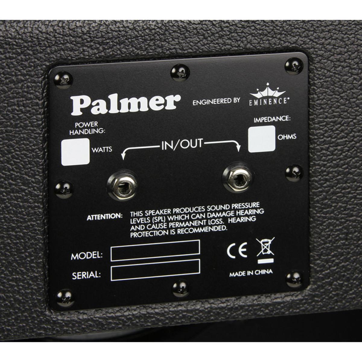 1x12 Guitar Cabinet Empty Palmer Pcab112b 1 X 12 Empty Guitar Cabinet At Gear4musiccom