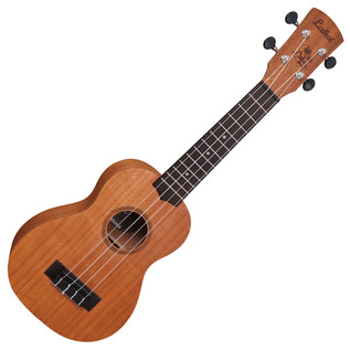 Laka VUS10 Soprano Acoustic Ukulele, Sapele