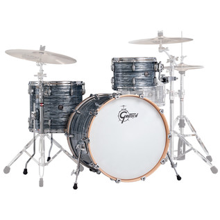 Gretsch Drums Renown Maple 22'' 3 Pc Euro Shells, Silver Oyster Pearl
