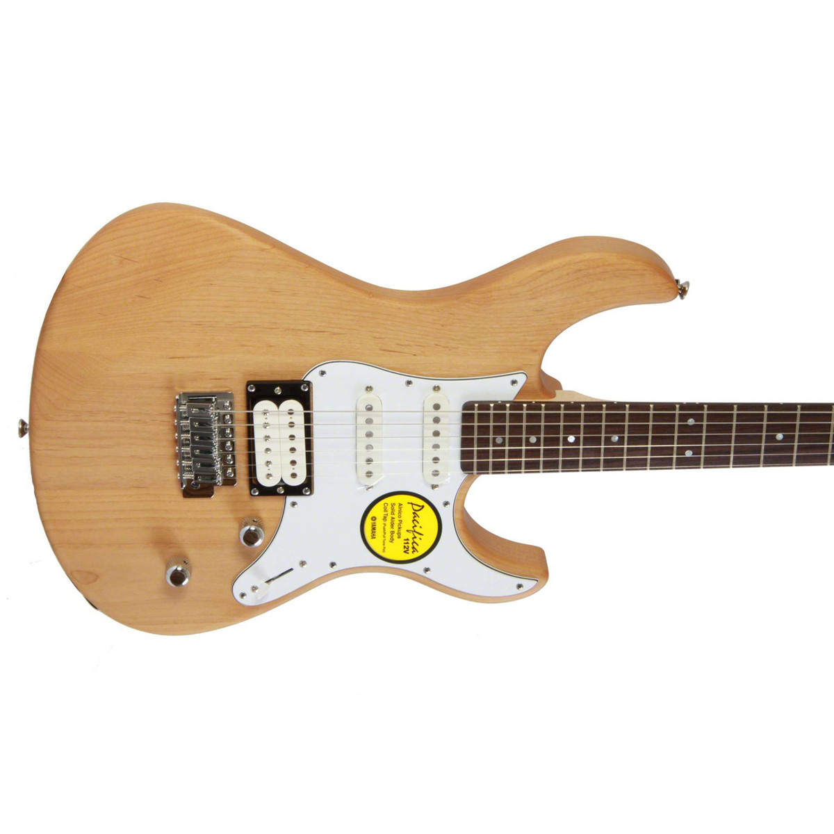 yamaha pacifica 112v electric guitar yellow natural satin. Black Bedroom Furniture Sets. Home Design Ideas