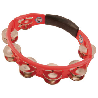 LP Cyclops Tambourine, Hand Held - Red