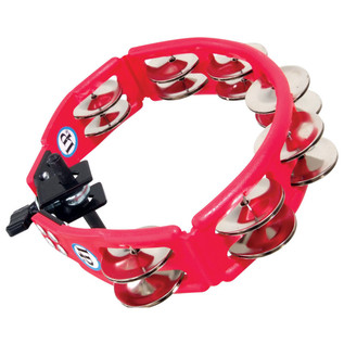 LP Cyclops Tambourine, Mountable - Red