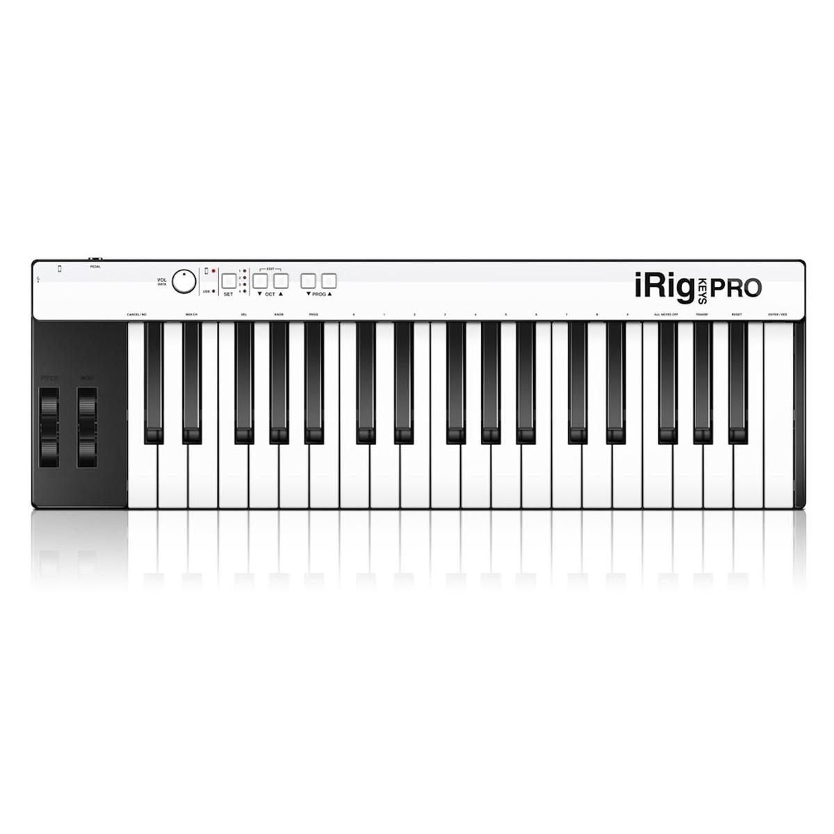 Image of IK Multimedia iRig Keys Pro for iOS PC and Mac