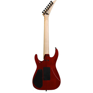 Jackson DK7Q Pro Series Dinky 7-String Guitar, Quilt Trans Red