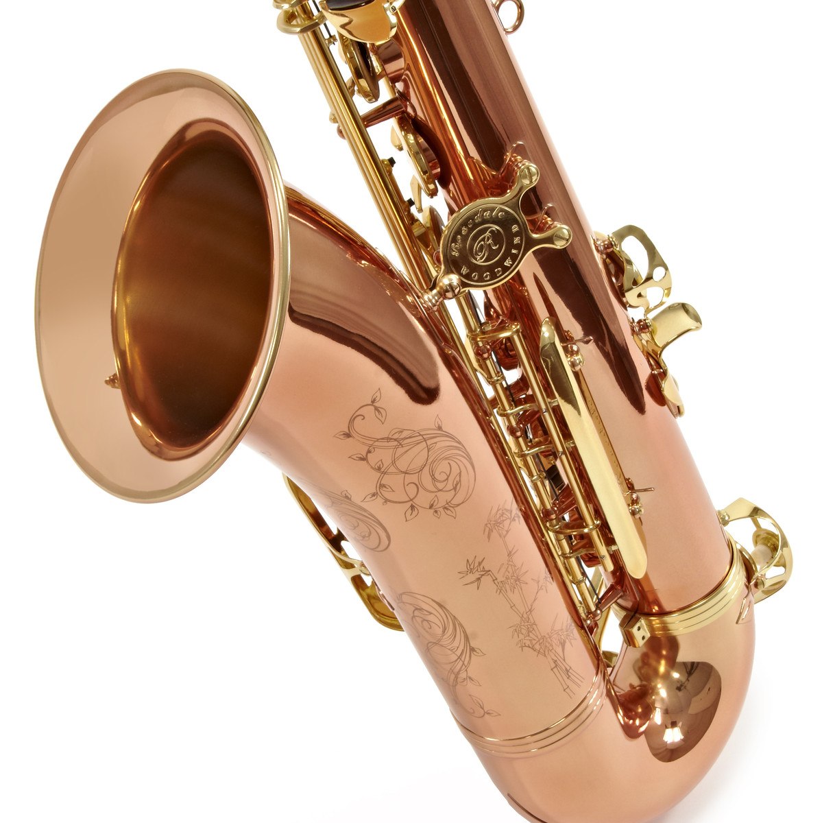 rosedale tenor saxophone rose gold by gear4music at. Black Bedroom Furniture Sets. Home Design Ideas