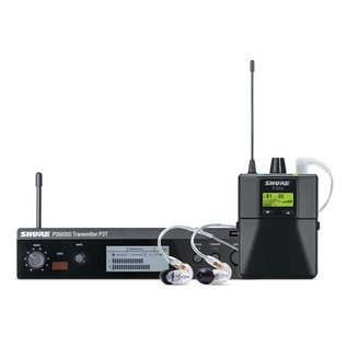 Shure PSM300 Premium Wireless Monitor System with SE215 Earphones