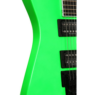 Jackson X Series Soloist SLX Electric Guitar, Slime Green