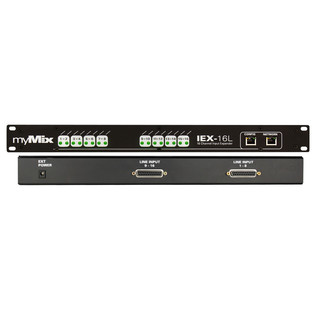 myMix IEX-16L-A 16 Channel Line Level and ADAT Expander 2