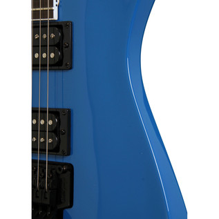 Jackson JS32L Dinky Left Handed Electric Guitar, Bright Blue
