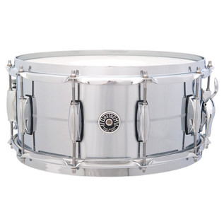 Gretsch Drums Brooklyn 14'' x 6.5'' Snare Drum, Chrome Over Brass