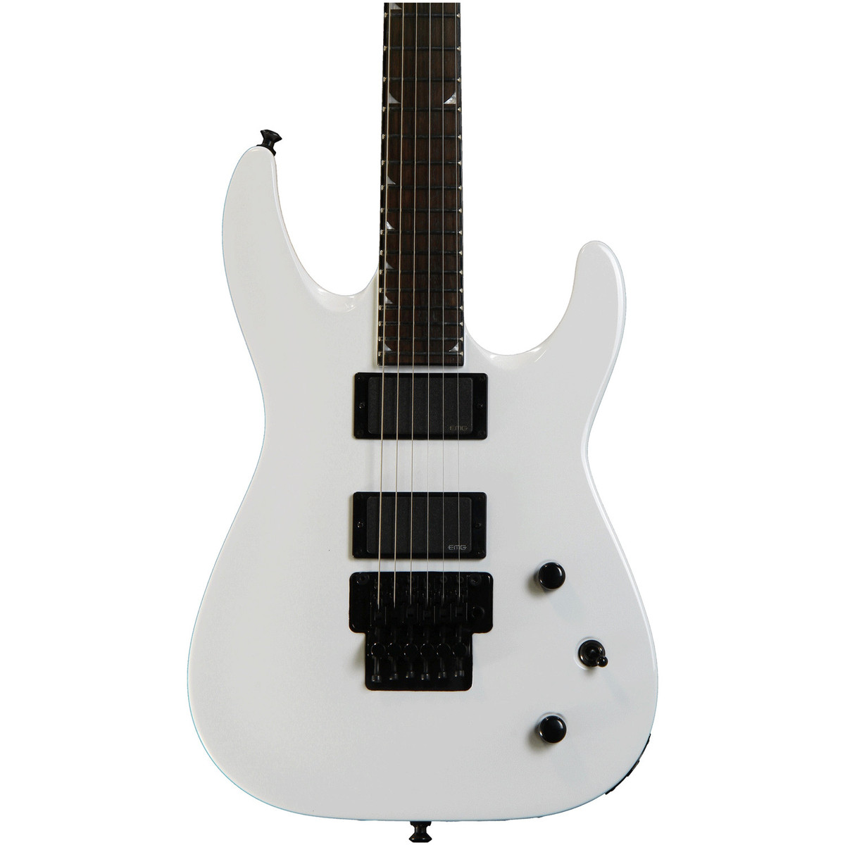 jackson x series slatxmg3 6 soloist electric guitar snow white at. Black Bedroom Furniture Sets. Home Design Ideas
