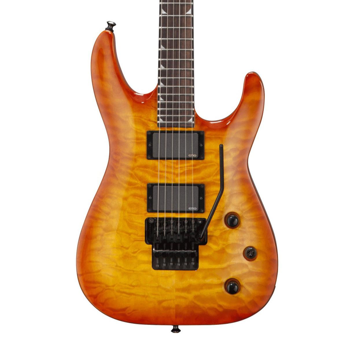disc jackson x series slatxmgq3 6 soloist guitar trans sunburst at. Black Bedroom Furniture Sets. Home Design Ideas