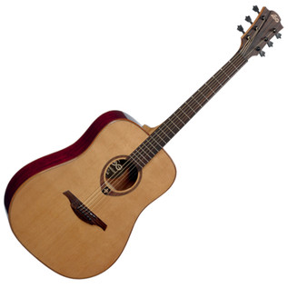 LAG T100D Acoustic Guitar, Natural