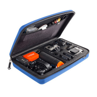SP Gadgets Large Case for GoPro Cameras and Accessories, Blue