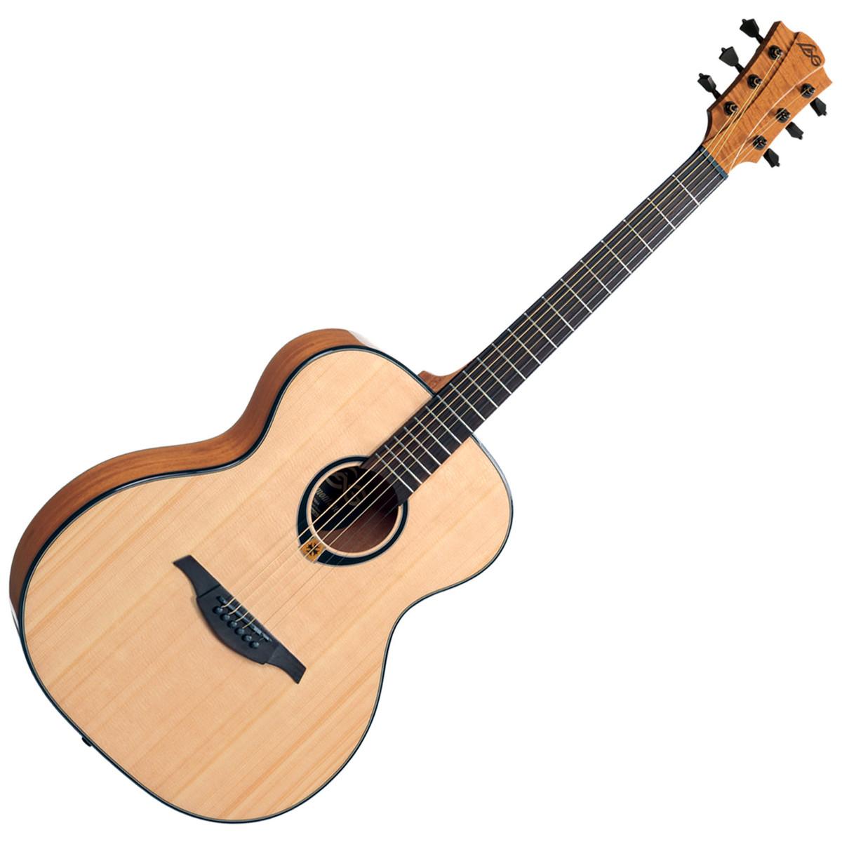 lag t80a auditorium acoustic guitar natural at. Black Bedroom Furniture Sets. Home Design Ideas