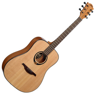LAG T80D Acoustic Guitar, Natural