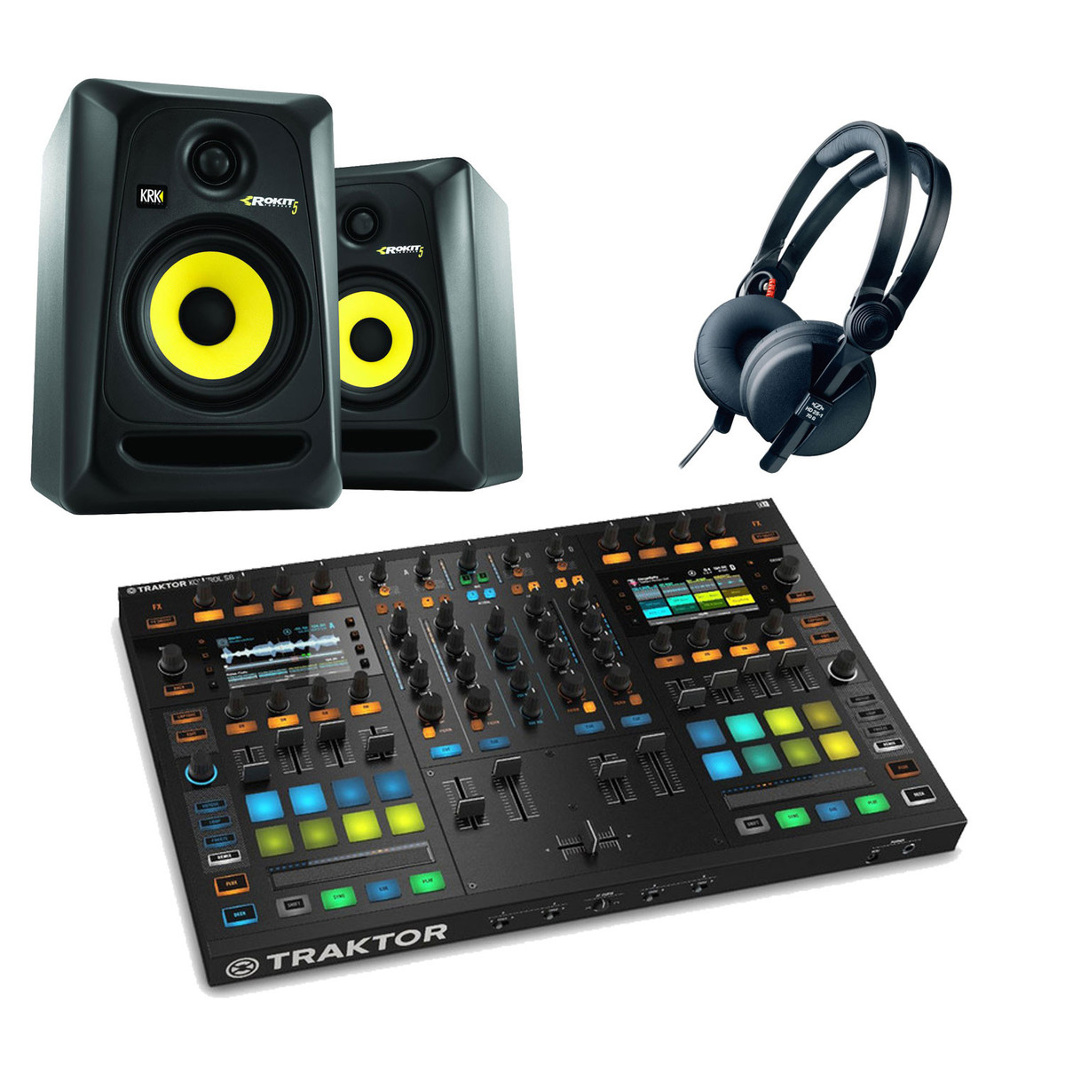 native instruments traktor kontrol s8 pack de dj en. Black Bedroom Furniture Sets. Home Design Ideas