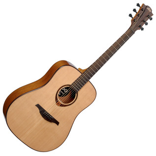 LAG T200D Acoustic Guitar, Natural