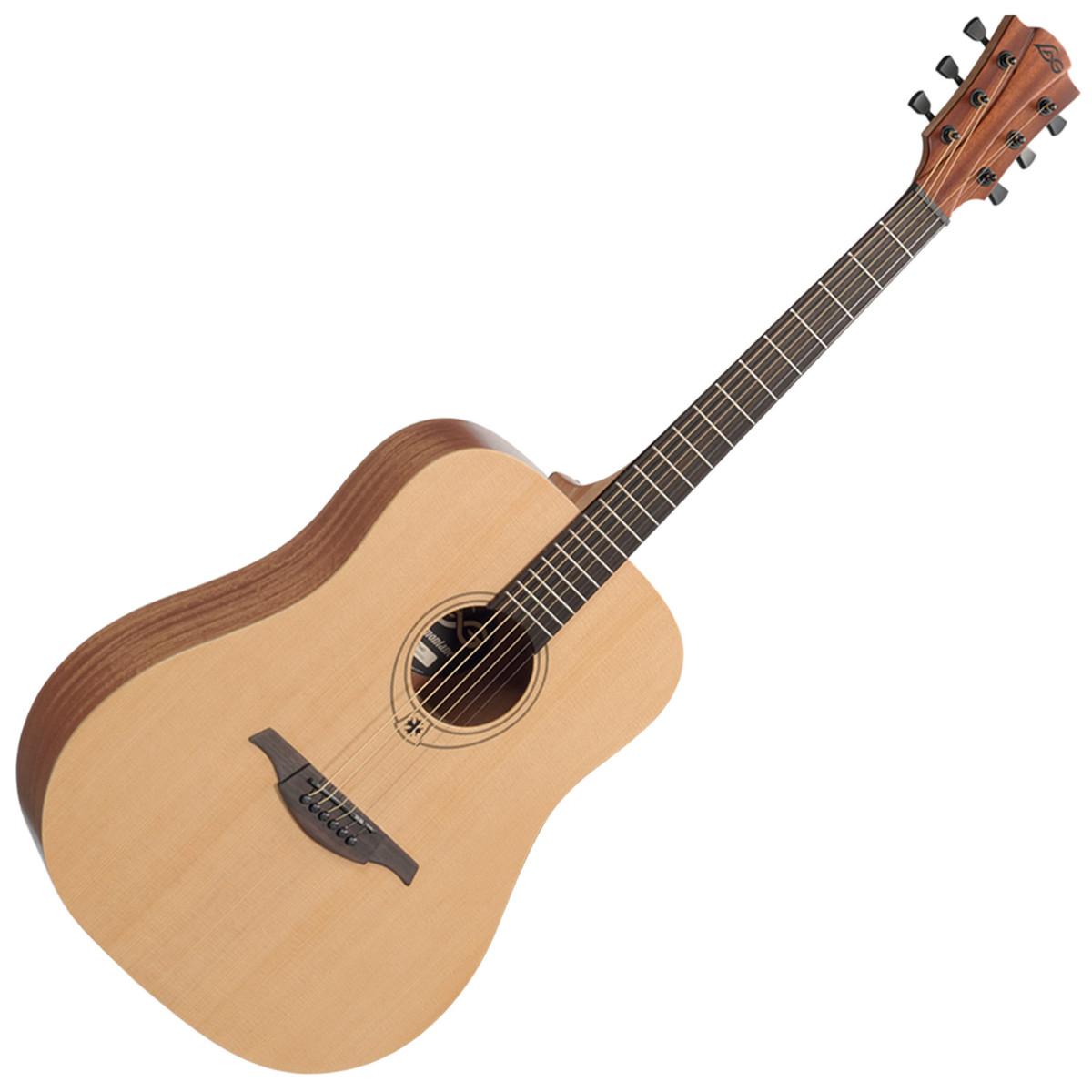 lag t44dpk acoustic guitar pack at. Black Bedroom Furniture Sets. Home Design Ideas