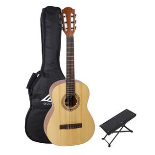 LAG Occitania OC44 Classical Acoustic Guitar Pack