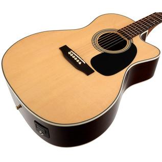 Sigma JRC-1STE Electro Acoustic Guitar, Natural