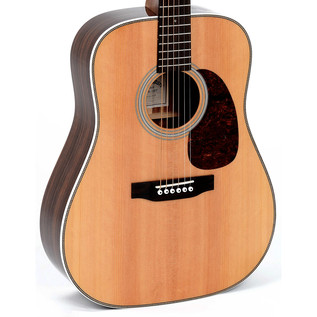 Sigma DR-1HST Acoustic Guitar, Natural w/Herringbone Inlay