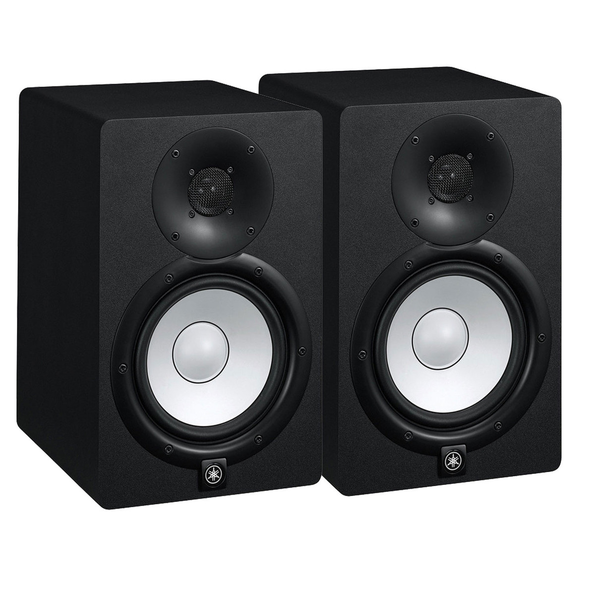 Yamaha hs8 active studio monitors pair with stands and for Studio monitors yamaha