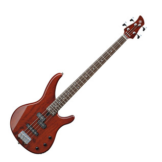 Yamaha TRBX174EW Electric Bass Guitar, Root Beer