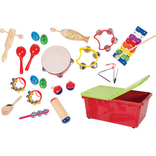 Performance Percussion Preschool 16 Player Percussion Set