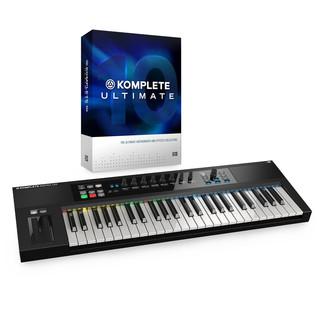Native Instruments Komplete 10 Ultimate and Kontrol S49 Bundle