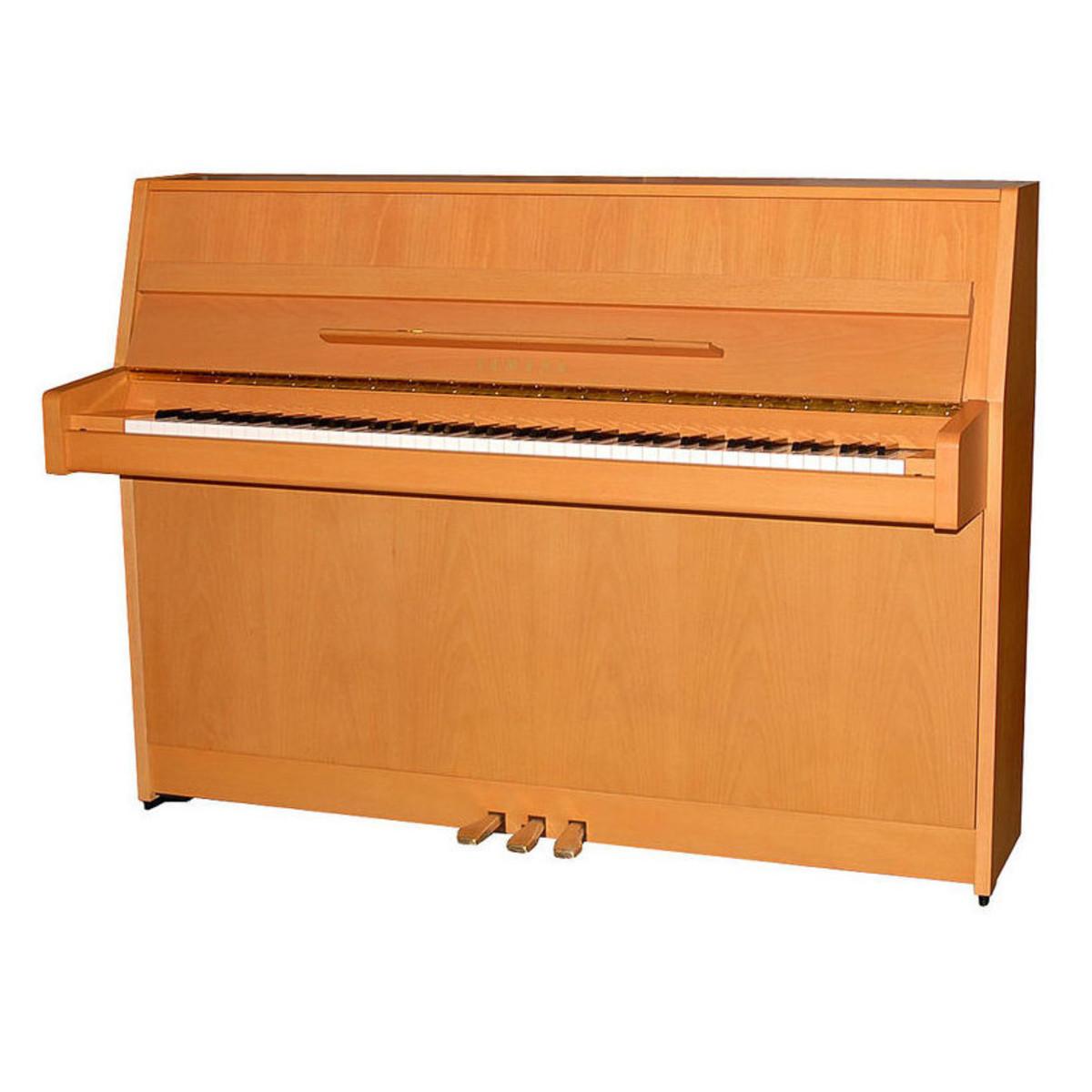 yamaha b1 upright acoustic piano natural beech satin at. Black Bedroom Furniture Sets. Home Design Ideas