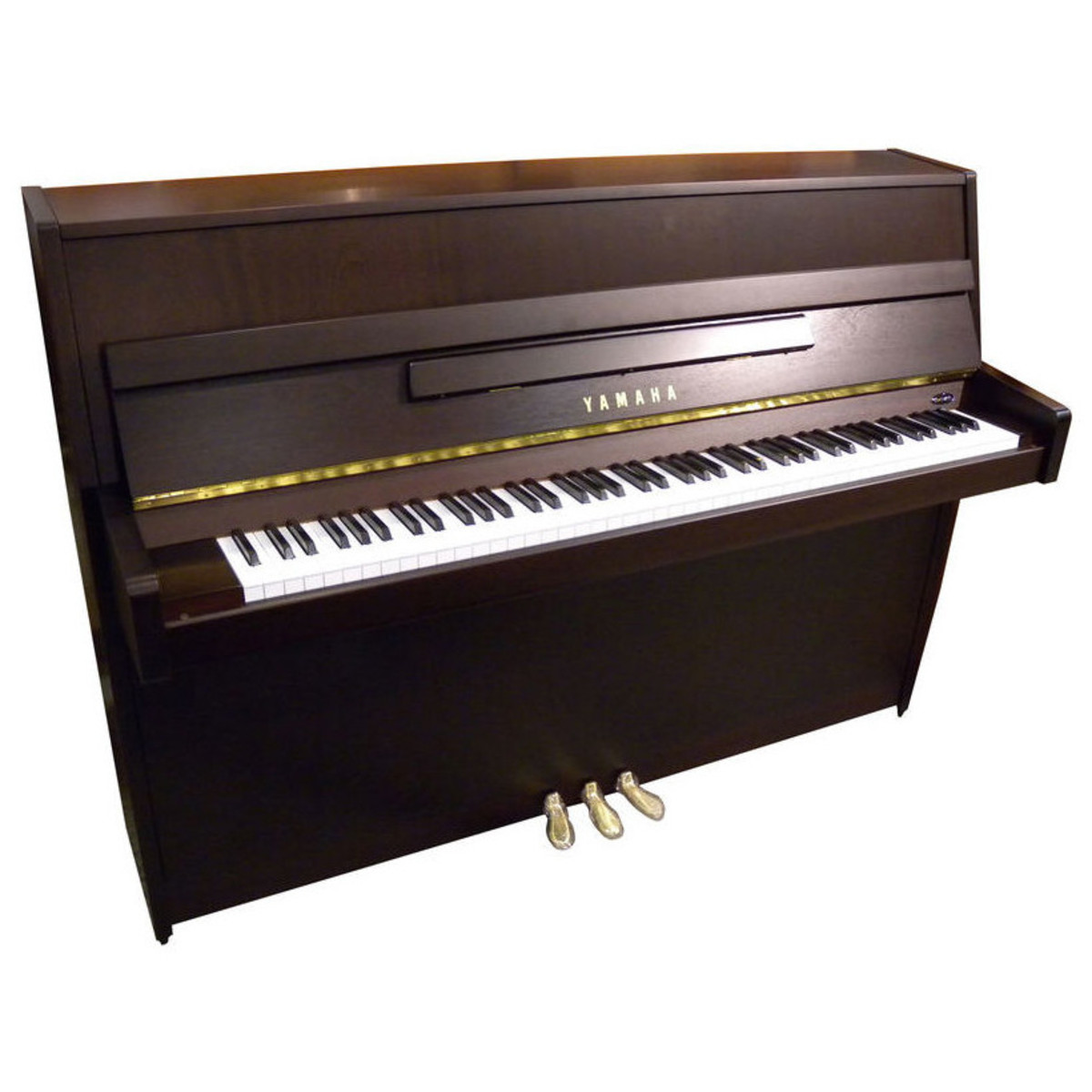 Yamaha b1 upright acoustic piano dark walnut satin at for Yamaha piano com