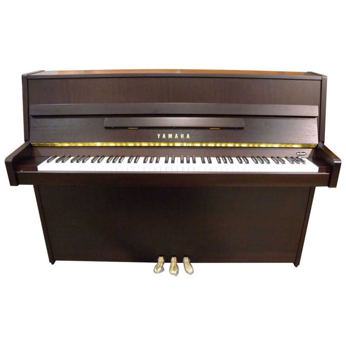 Yamaha b1 upright acoustic piano dark walnut satin at for Yamaha b1 piano price