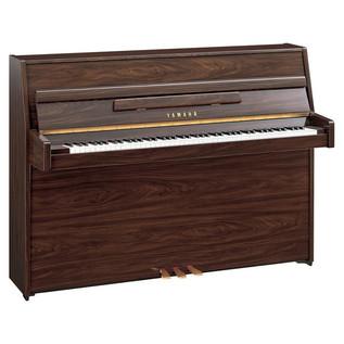 Yamaha B1 Upright Acoustic Piano, Simulated Walnut Polyester