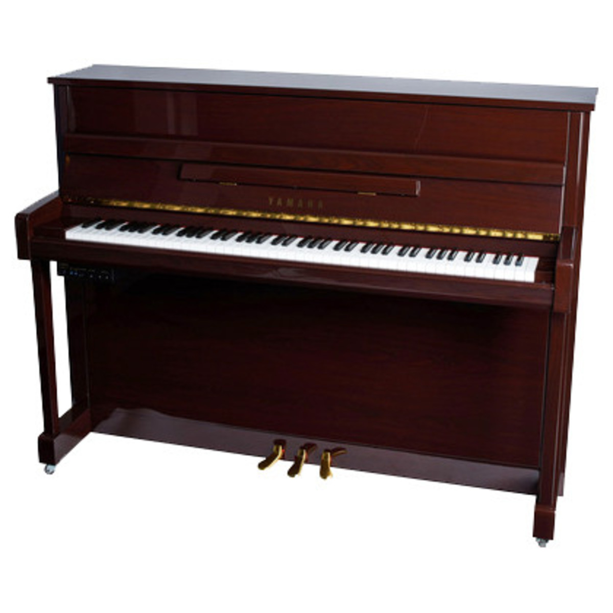 Yamaha b2 upright acoustic piano simulated mahogany for Yamaha piano upright