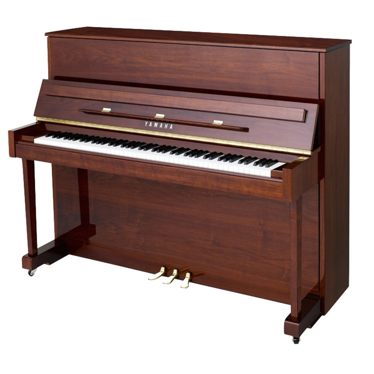 yamaha b3 upright acoustic piano simulated mahogany