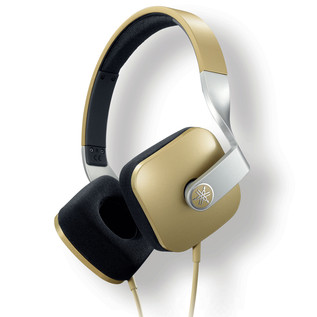 Yamaha HPHM82 Headphones, Gold