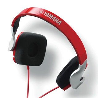 Yamaha HPHM82 Headphones, Red