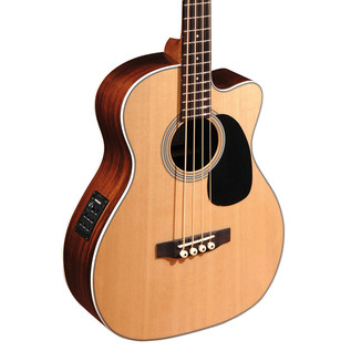 Sigma BRC-28E Electro Acoustic Bass, Natural