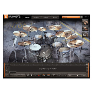 Toontrack EZX - Made of Metal