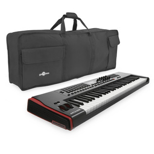 Novation Impulse 61 Key USB MIDI Controller Keyboard with FREE Bag