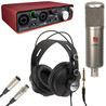 sE Electronics SE2000 Condenser Mic and Focusrite 2i2 USB Interface