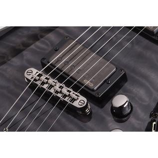 Schecter Hellraiser Hybrid C-1 Electric Guitar, Trans Black Burst