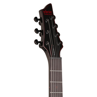 Schecter Blackjack C-7 7 String Electric Guitar, Gloss Black